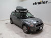 Roof Box TH682 - Extra Small Capacity - Thule on 2010 Mini Clubman
