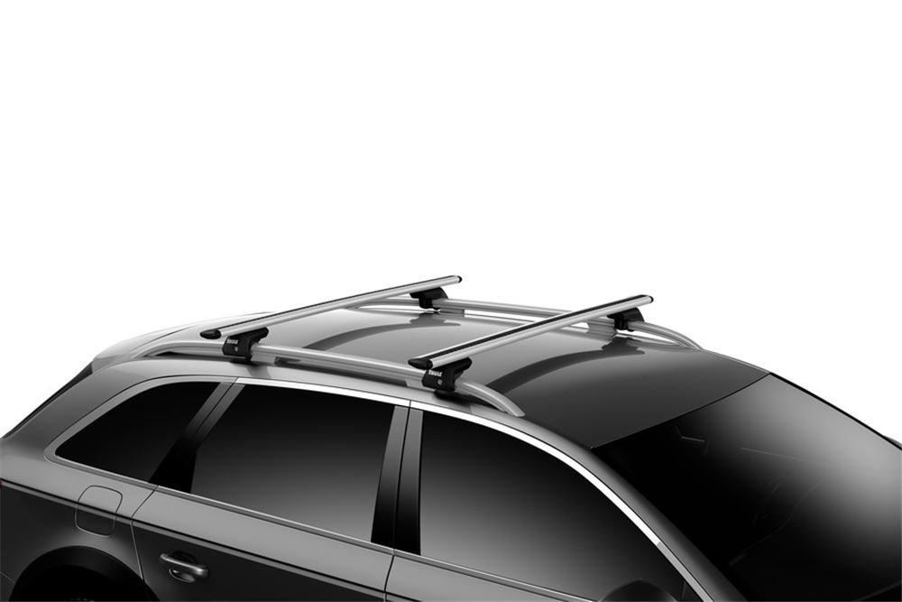 45a498553a3 Thule WingBar Evo Crossbars - Aluminum - Silver - 47
