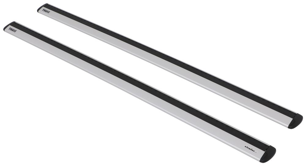 "Thule WingBar Evo Crossbars - Aluminum - Silver - 53"" Long - Qty 2 Aero Bars TH711400"