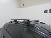 "Thule WingBar Evo Crossbars - Aluminum - Black - 53"" Long - Qty 2 Black TH711420 on 2019 Subaru Crosstrek"
