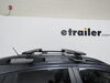 "Thule WingBar Evo Crossbars - Aluminum - Black - 53"" Long - Qty 2 Non-Locking TH711420 on 2019 Subaru Crosstrek"