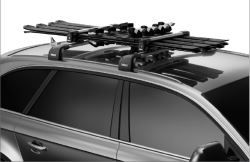 Thule SnowPack Ski & Snowboard Carrier - 4 Skis or 2 Boards