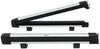 Thule SnowPack Ski and Snowboard Carrier - Low Profile - Locking - 6 Skis or 4 Boards - Silver Clamp On - Quick TH7326