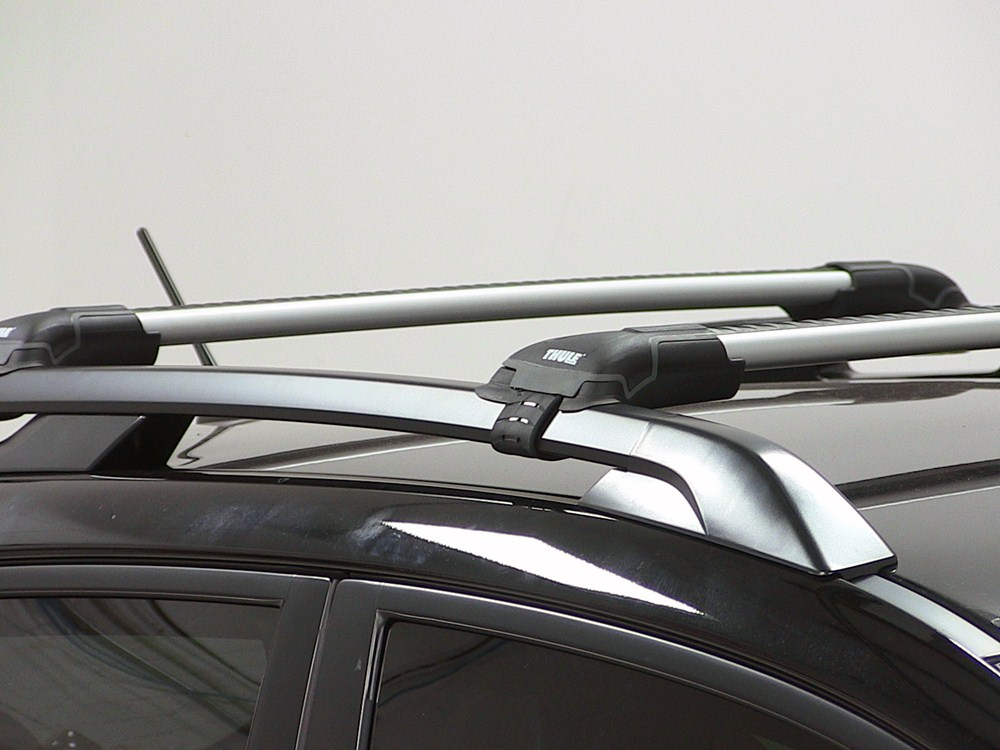 2004 Volvo V40 Thule Aeroblade Edge Roof Rack For Raised