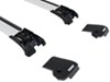 Thule AeroBlade Edge Roof Rack for Raised, Factory Side Rails - Aluminum Locks Not Included TH7502-TH7502