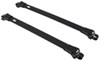thule roof rack complete systems aero bars aeroblade edge for factory side rails - aluminum black