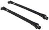 thule roof rack complete systems aero bars aeroblade edge for raised factory side rails - aluminum black