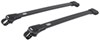 Thule AeroBlade Edge Roof Rack for Raised, Factory Side Rails - Aluminum - Black Aluminum TH7504B-TH7504B
