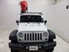 Thule Hull-A-Port Kayak Carrier w/Tie-Downs - J-Style - Fixed - Side Loading Side Loading TH834 on 2015 Jeep Wrangler Unlimited
