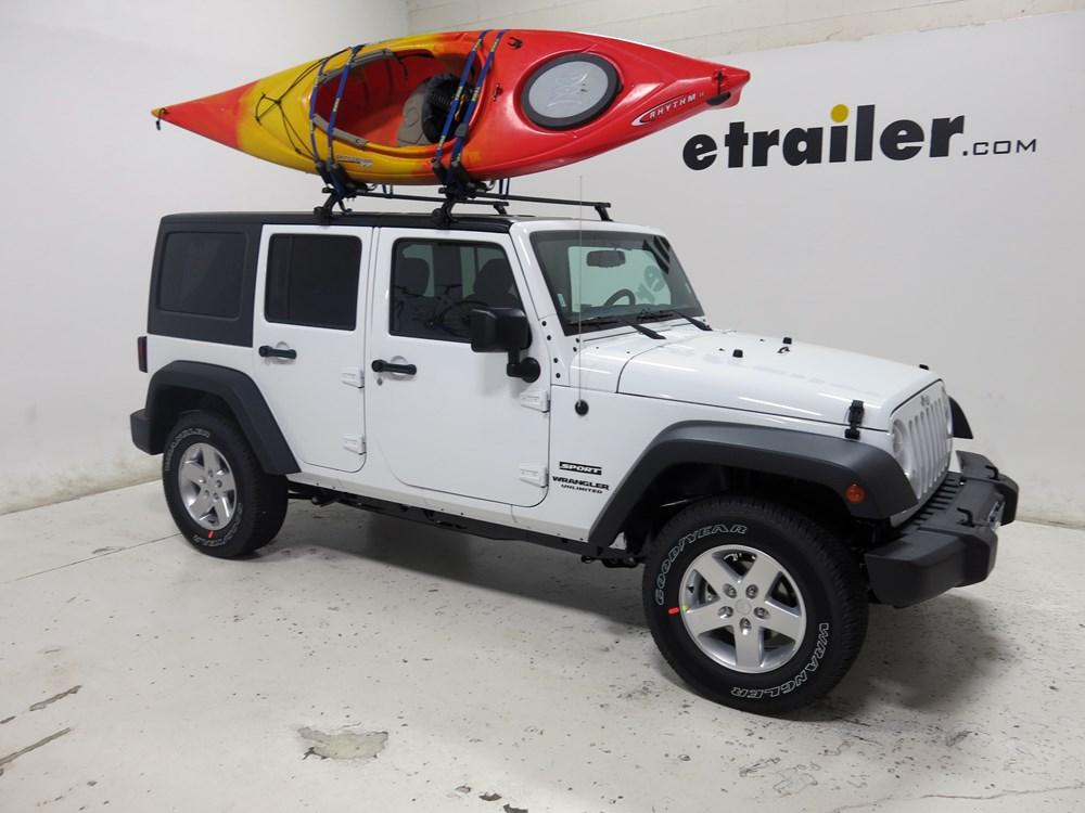 Jeep Wrangler Kayak Rack >> Thule Hull-A-Port Kayak Carrier w/Tie-Downs - J-Style ...