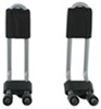 Thule Hull-A-Port Kayak Carrier w/Tie-Downs - J-Style - Fixed - Side Loading No Load Assist TH834