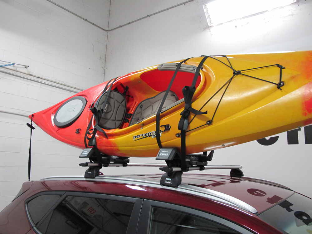 Thule Hull-A-Port XT Kayak Carrier w/ Tie-Downs - J-Style ...