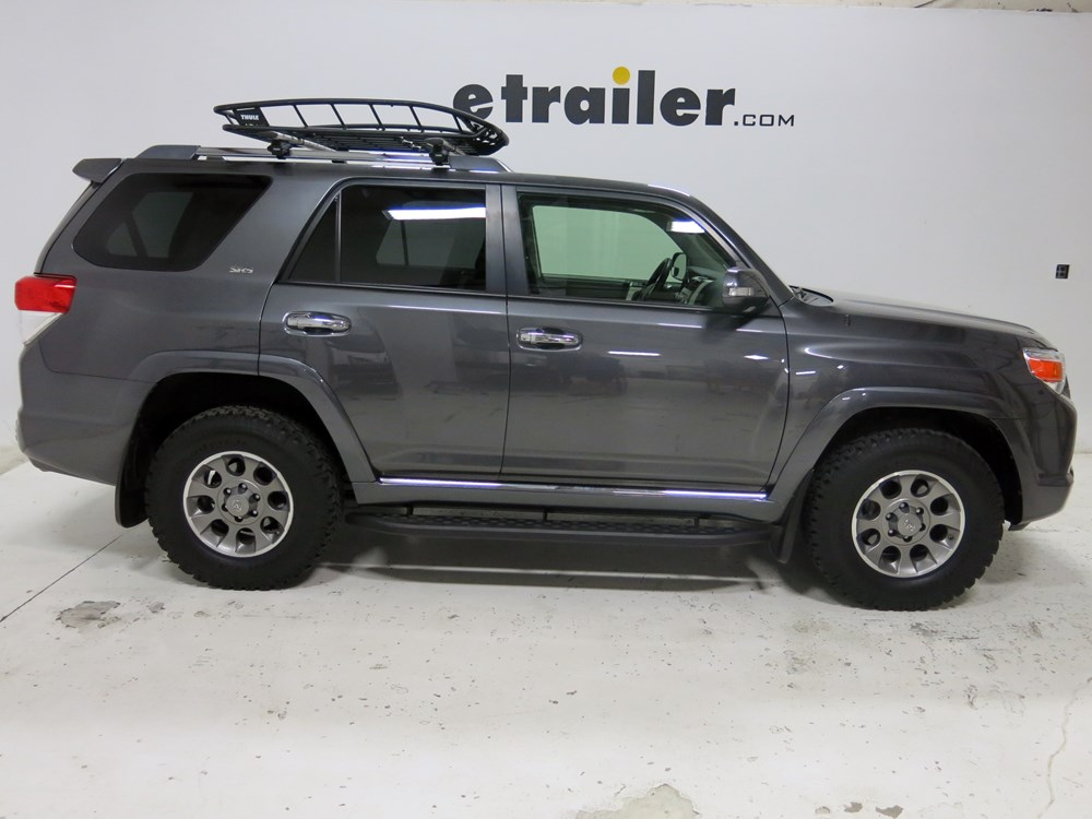 2012 toyota 4runner thule canyon roof cargo basket steel 49 x 40 x 6 150 lbs. Black Bedroom Furniture Sets. Home Design Ideas