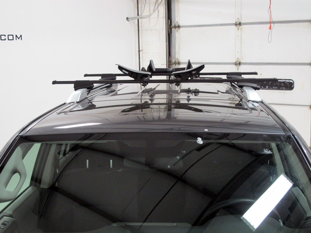 2007 Subaru Outback Wagon Thule Roll Model Roof Mounted