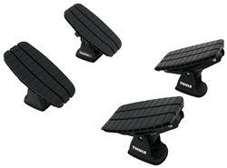 Thule DockGrip Kayak and SUP Carrier with Tie-Downs - Saddle Style - Rear Loading - Universal Mount