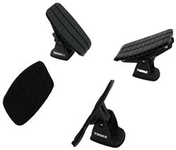 Thule DockGlide Kayak Carrier with Tie-Downs - Saddle Style - Rear Loading - Universal Mount