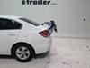 TH9006XT - Non-Retractable Thule Frame Mount - Anti-Sway on 2013 Honda Civic