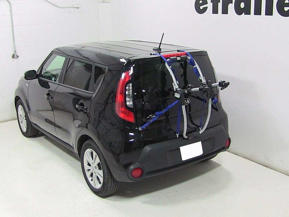 Buick Encore Bike Rack >> Kia Soul Thule Gateway XT 2-Bike Rack - Trunk Mount - Adjustable Arms