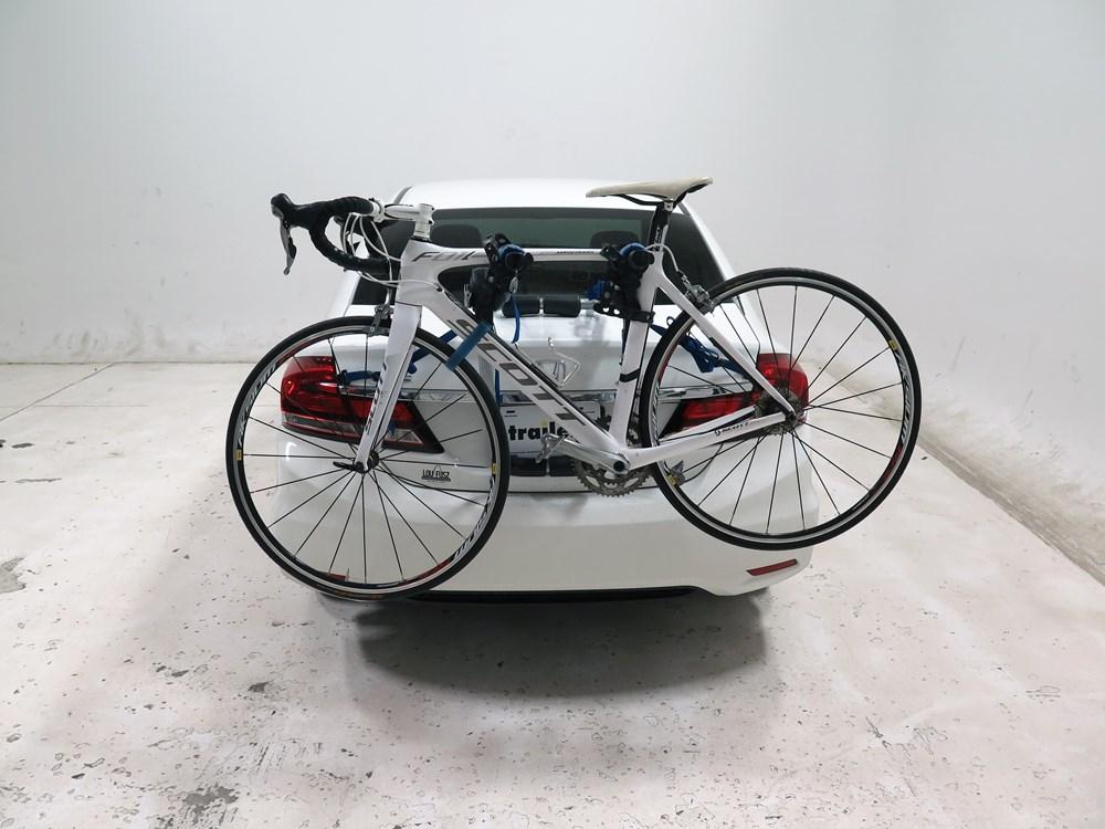 honda civic thule archway xt  bike rack trunk mount adjustable arms