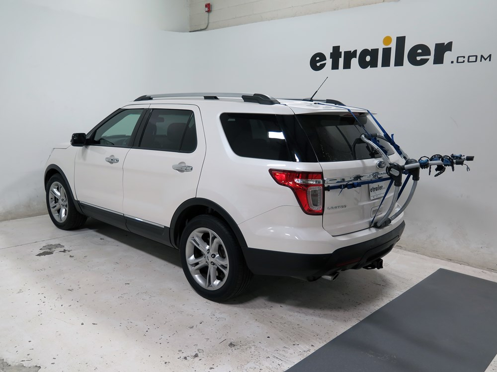 Ford Explorer Towing Camper >> Ford Explorer Thule Archway XT 2-Bike Rack - Trunk Mount - Adjustable Arms