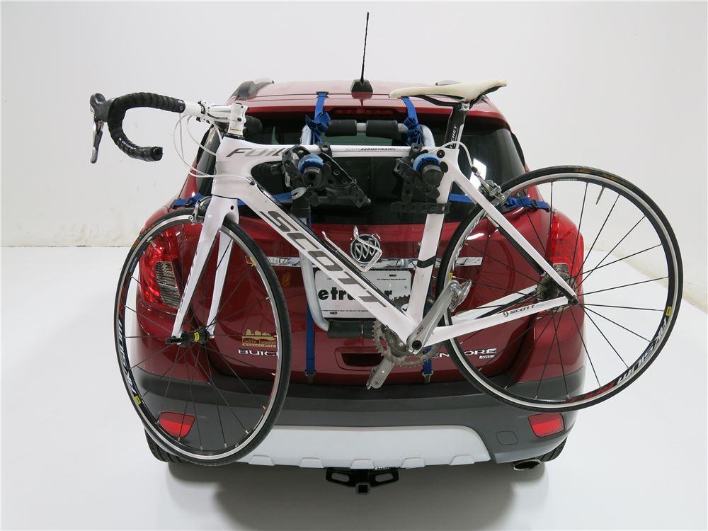 Buick Encore Bike Rack >> 2014 Buick Encore Thule Archway XT 2-Bike Rack - Trunk Mount - Adjustable Arms
