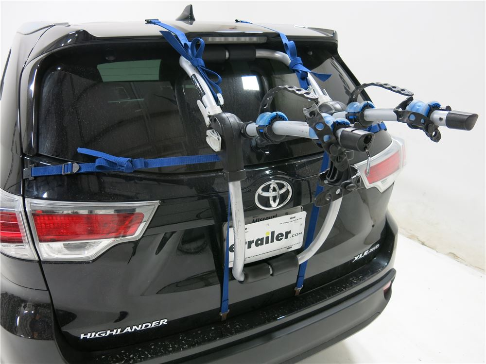 Buick Encore Bike Rack >> 2015 Toyota Highlander Thule Archway XT 2-Bike Rack - Trunk Mount - Adjustable Arms