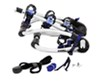 thule trunk bike racks frame mount - anti-sway adjustable arms