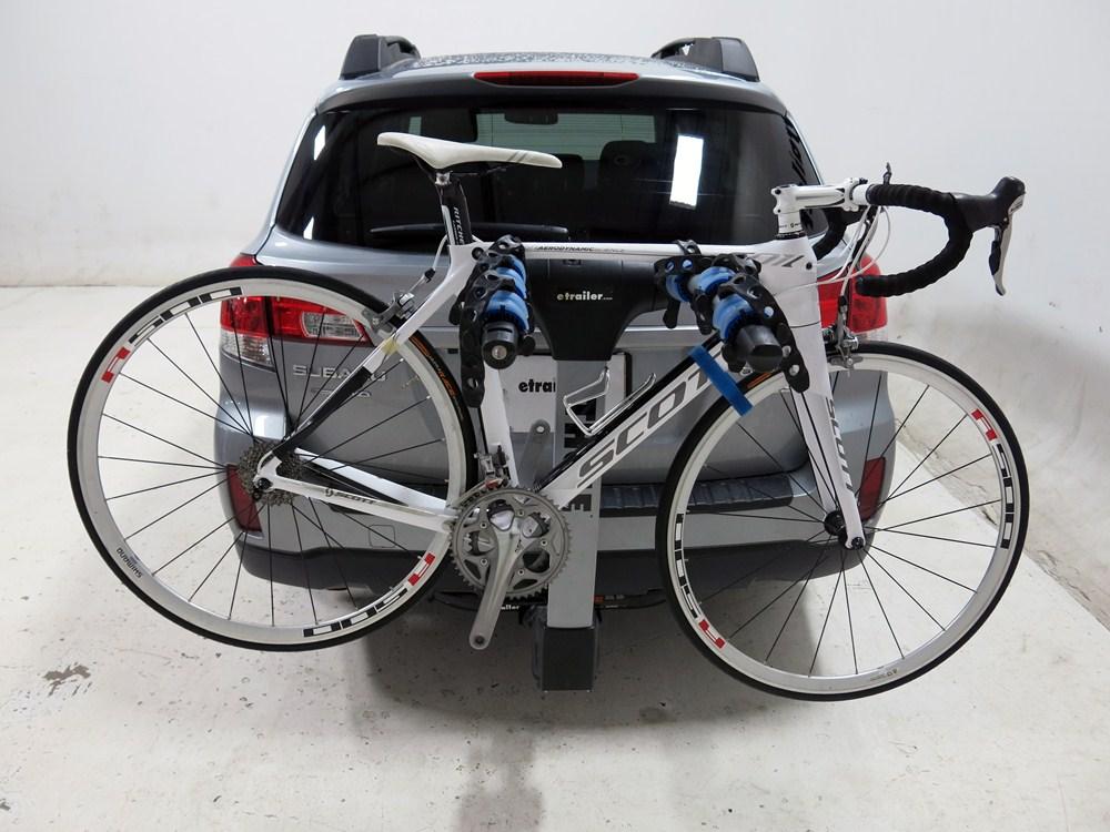 subaru outback wagon thule apex  bike rack      hitches tilting