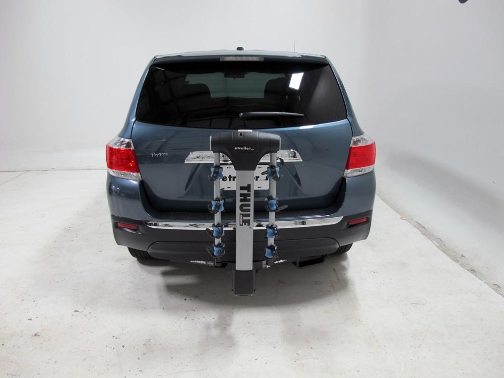 2012 toyota highlander thule apex 4 bike rack for 1 1 4. Black Bedroom Furniture Sets. Home Design Ideas