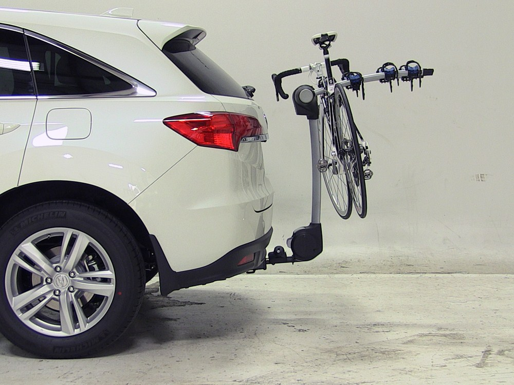 2017 acura rdx thule apex 4 bike rack for 1 1 4 quot and 2
