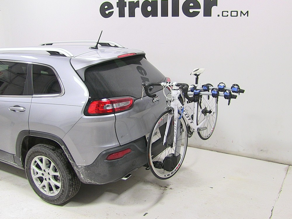 jeep cherokee thule apex 4 bike rack for 1 1 4 and 2. Black Bedroom Furniture Sets. Home Design Ideas