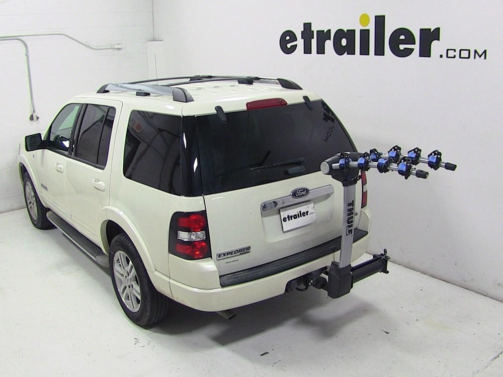 2007 Ford Explorer Thule Apex Swing 4 Bike Rack For 2