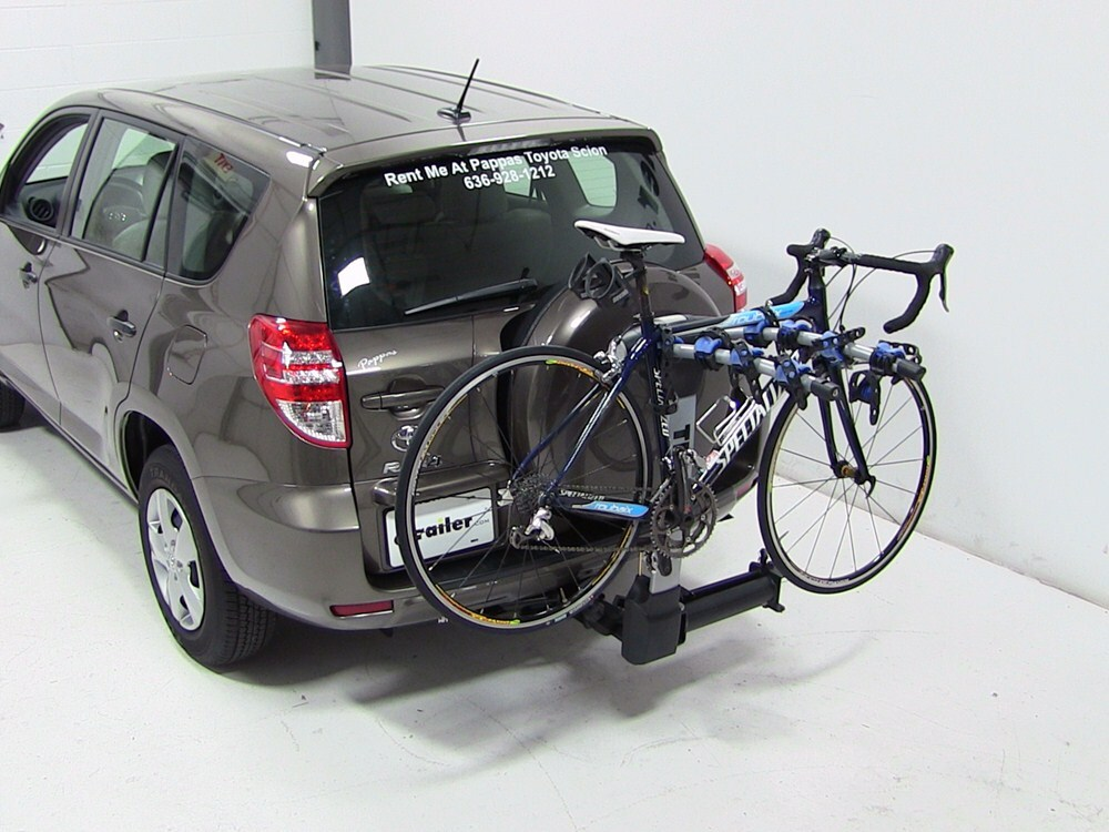2012 Toyota Rav4 Thule Apex Swing 4 Bike Rack For 2