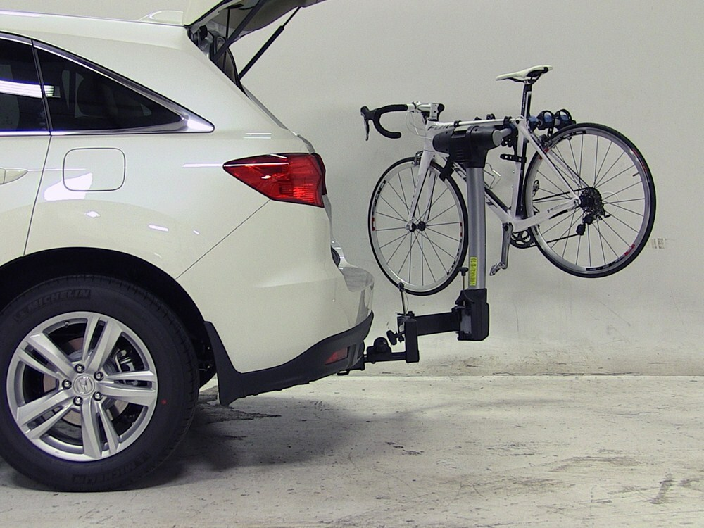 acura rdx thule apex swing 4 bike rack for 2 quot hitches