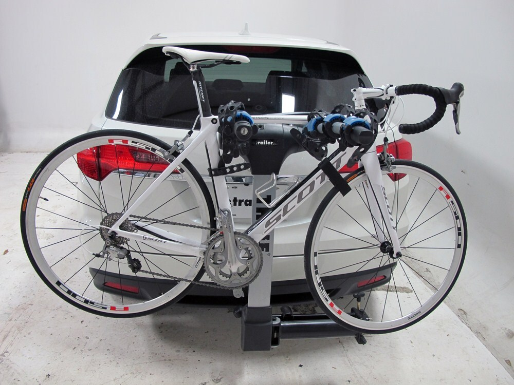 2011 acura rdx thule apex swing 4 bike rack for 2 quot hitches