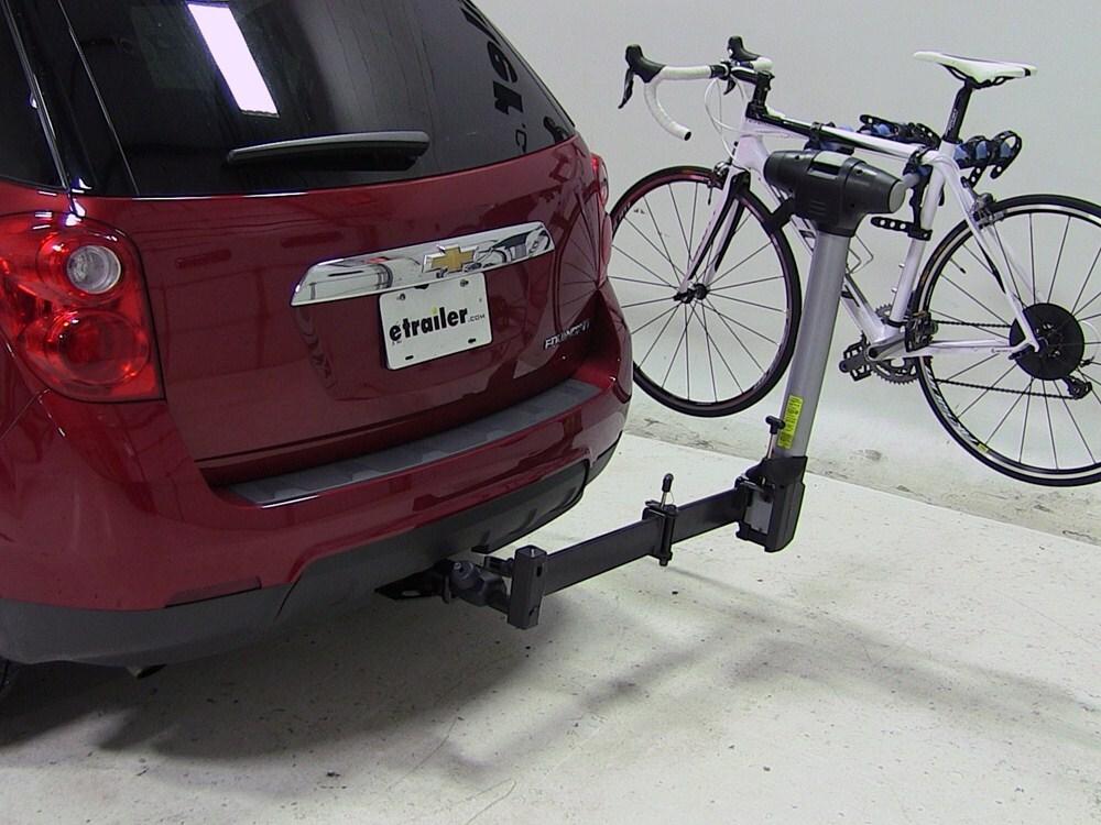 2007 Chevrolet Equinox Thule Apex Swing 4 Bike Rack For 2