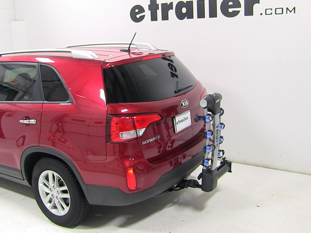 2014 kia sorento thule apex swing 4 bike rack for 2. Black Bedroom Furniture Sets. Home Design Ideas
