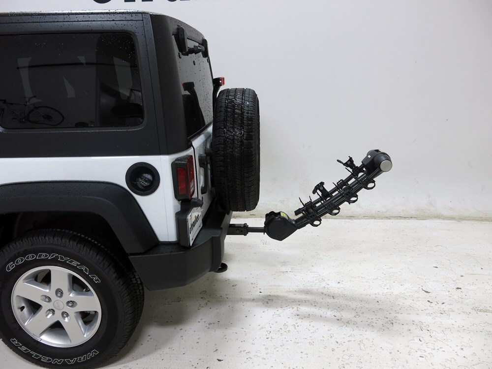 Jeep Wrangler Thule Vertex 4 Bike Rack 1 1 4 Quot And 2