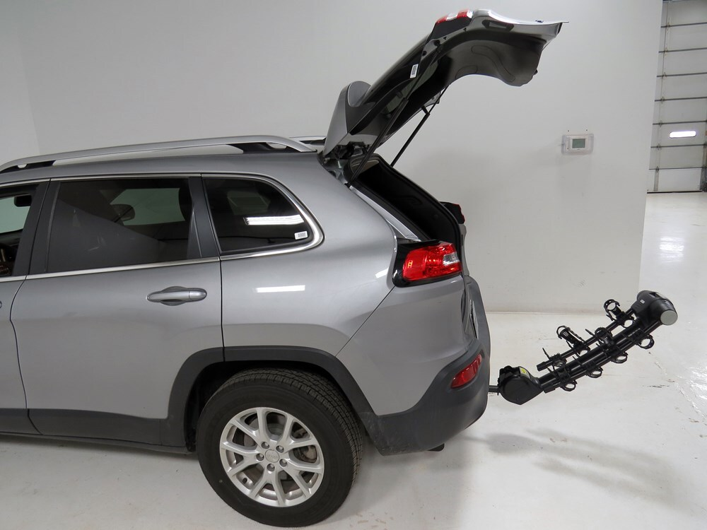 2015 jeep cherokee thule vertex 4 bike rack 1 1 4 and 2. Black Bedroom Furniture Sets. Home Design Ideas