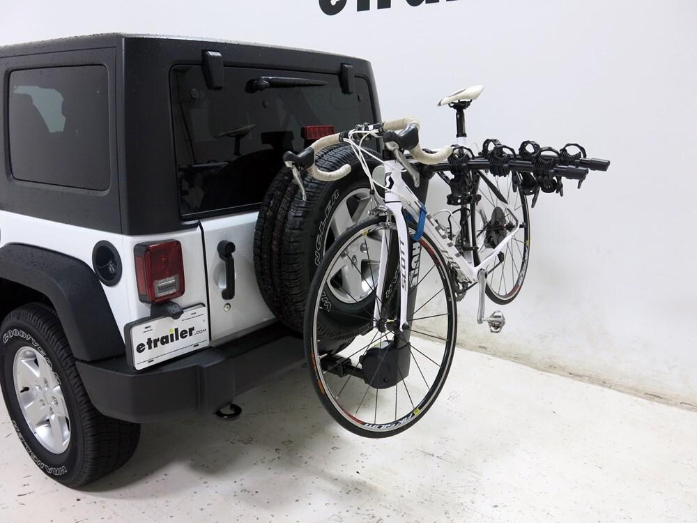 2015 jeep wrangler unlimited thule vertex 4 bike rack 1. Black Bedroom Furniture Sets. Home Design Ideas