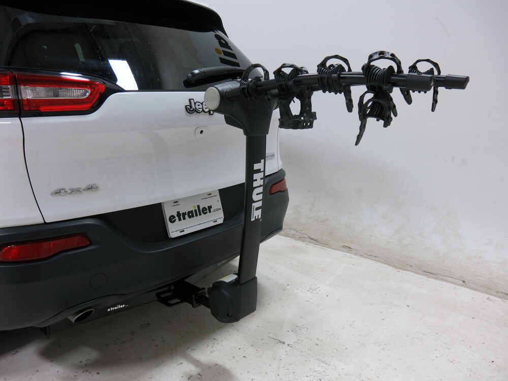 2016 jeep cherokee thule vertex 4 bike rack 1 1 4 and 2. Black Bedroom Furniture Sets. Home Design Ideas