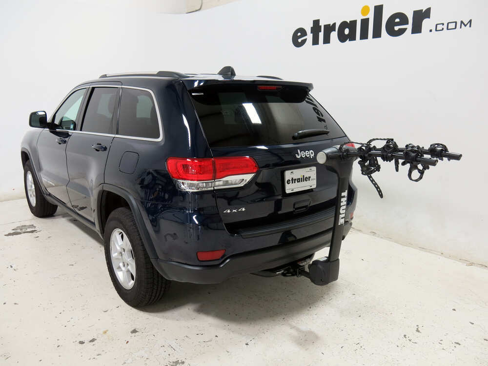 2016 jeep grand cherokee thule vertex 4 bike rack 1 1 4 and 2 hitches tilting. Black Bedroom Furniture Sets. Home Design Ideas