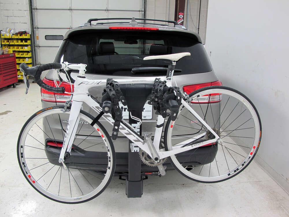"2005 Kia Sorento Thule Vertex 4 Bike Rack - 1-1/4"" and 2"" Hitches - Tilting"