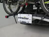 "Thule EasyFold XT 2 E-Bike Platform Rack - 1-1/4"" and 2"" Hitches - Frame Mount Bike and Hitch Lock TH903202"