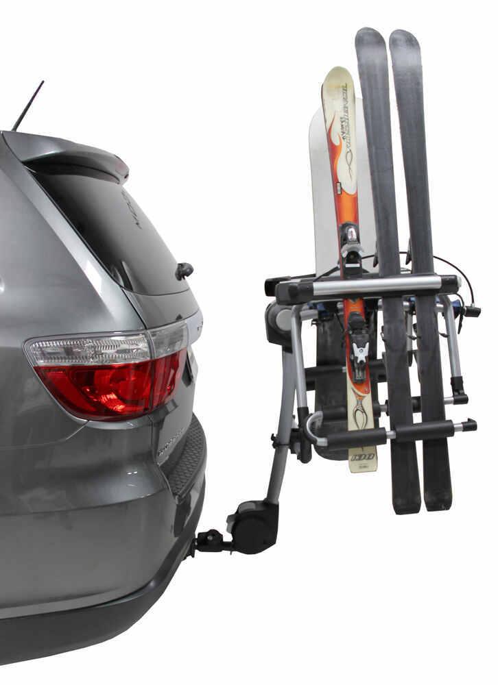 Thule Tram Ski And Snowboard Carrier Adapter For Hitch Mounted Bike Racks Thule Ski And Snowboard Racks Th9033