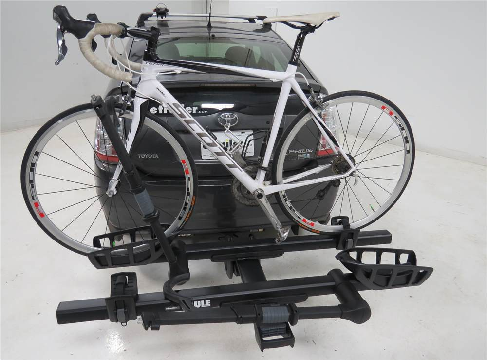2012 mercedes benz e class thule t2 pro xtb 2 bike for Mercedes benz bicycle rack