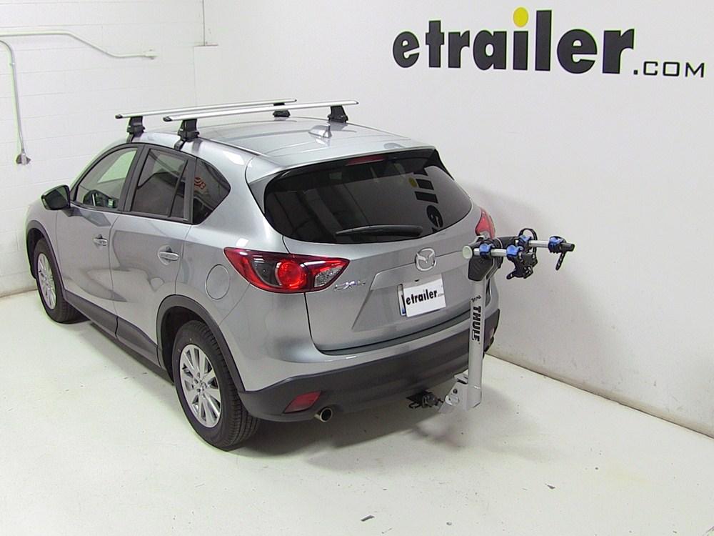 2015 Mazda CX 5 Thule Helium Aero 2 Bike Rack