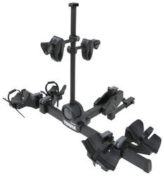 "Thule DoubleTrack Pro 2 Bike Platform Rack - 1-1/4"" and 2"" Hitches - Frame Mount - TH9054"