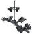 thule hitch bike racks platform rack doubletrack pro 2 - 1-1/4 inch and hitches frame mount