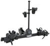 thule hitch bike racks platform rack 2 bikes doubletrack pro - 1-1/4 inch and hitches frame mount